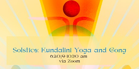 Solstice: Kundalini Yoga and Gong tickets