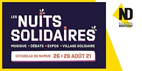 Les Nuits Solidaires 2021 billets