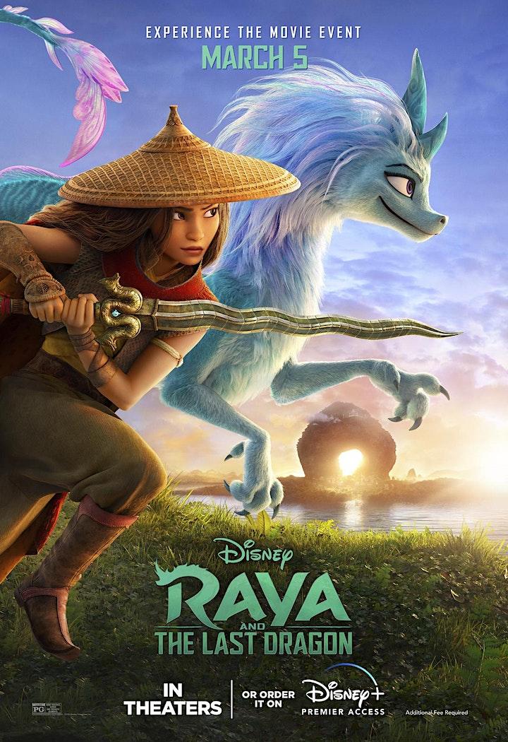 Image de Cinéma sous les étoiles à Brossard | Raya et le dernier dragon