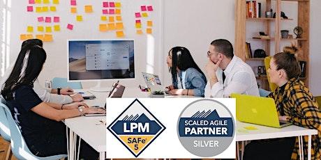SAFe® Lean Portfolio Management- Aug 26-27- EST-(LPM® 5.1 Certification) billets