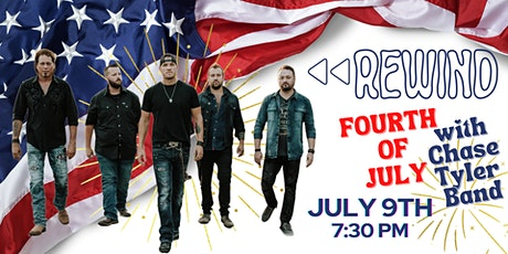 Rewind July 4th with Chase Tyler Band tickets