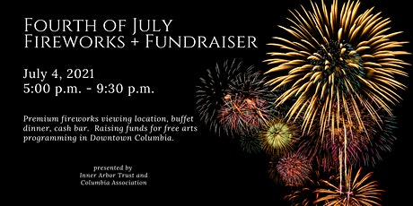 Fourth of July - Fireworks + Summer Programming Fundraiser tickets
