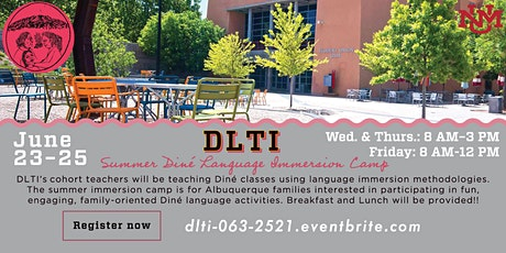 Summer Diné Language Immersion Camp tickets