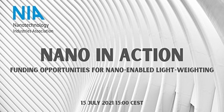 Funding opportunities for nano-enabled light-weighting tickets