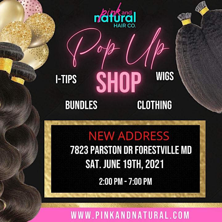 Hair Extension Pop-Up Shop image