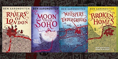 10 Years of the Rivers of London with Ben Aaronovitch tickets