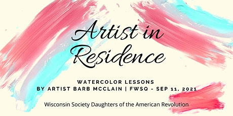 Artist in Residence - Watercolor Classes at FWSQ tickets