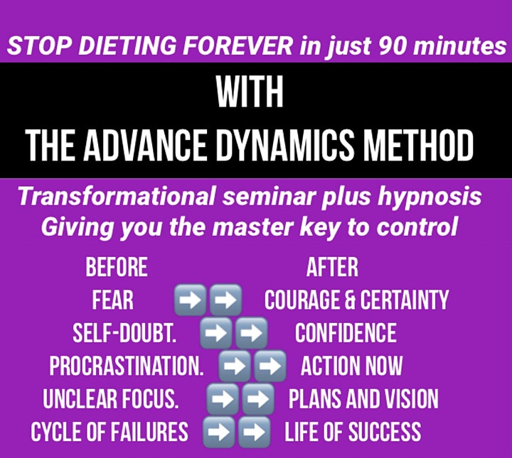 STOP Dieting  Forever with the Advance Dynamics method  Donnybrook image