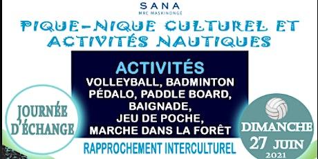 Pique-nique Culturel et Activité Nautique tickets