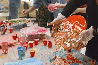 Acrylic Paint Pouring tickets