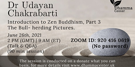 Introduction to Zen Buddhism, The Bull-herding pictures tickets