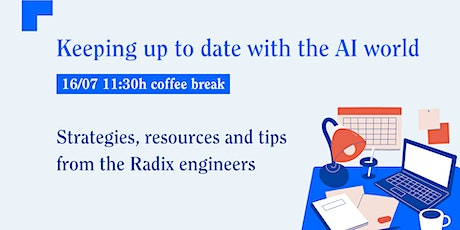 AI coffee break ☕️: Keeping up to date with the AI world Tickets