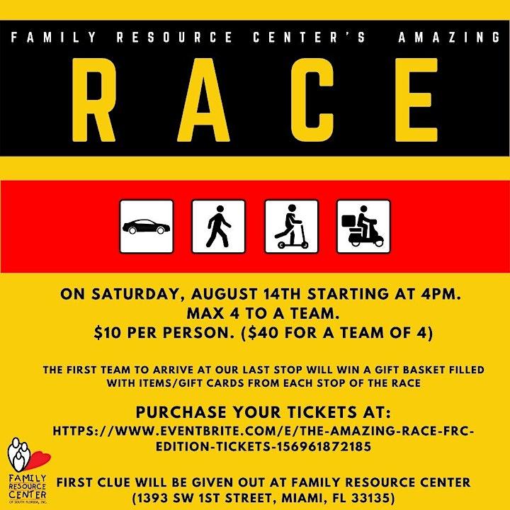 Family Resource Center's Amazing Race image