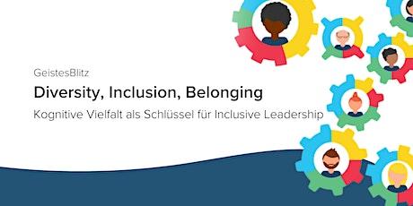 GeistesBlitz Webinar: Diversity, Inclusion, Belonging tickets