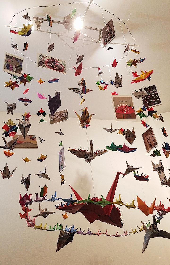 Origami Crane Workshop - 1000 Cranes Covid 19 Community Art Project (craft) image