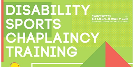 Disability Sports Chaplaincy Training tickets