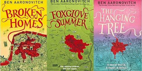 10 years of The Rivers of London  with Ben Aaronovitch - ONLINE TICKET tickets