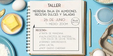 Taller Merienda baja en Almidones (Alimentación Biomédica) tickets