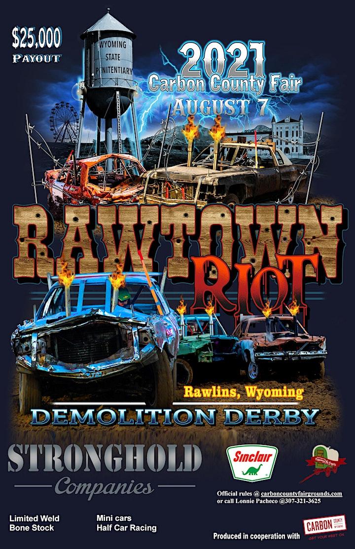 RawTown Riot Demolition Derby image