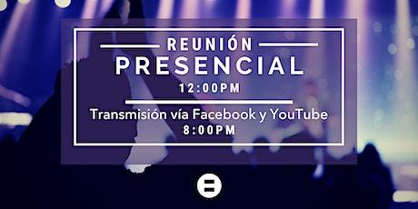 Reunión 12:00pm tickets