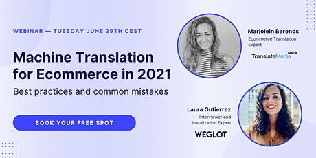 Machine translation for Ecommerce in 2021 tickets