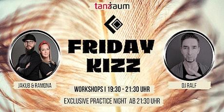 Friday Kizz Exclusive Practice Night 2 Workshops mit Jakub & Ramona tickets