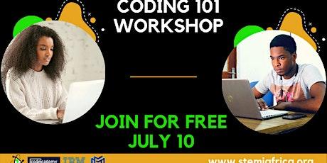 CODING 101 Workshop biglietti