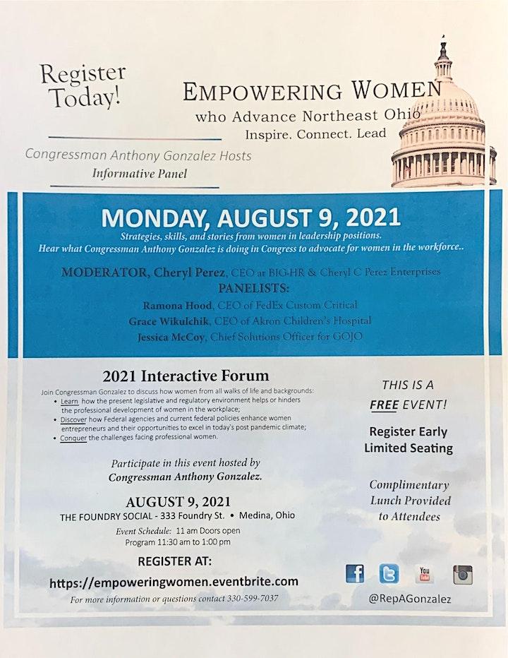 Empowering Women who Advance Northeast Ohio image