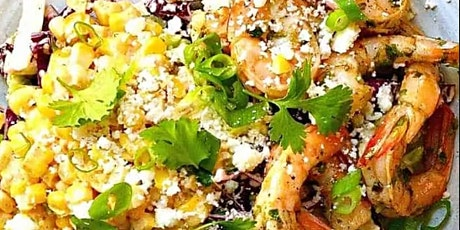 UBS - Virtual Cooking Class: Mexican Street Corn Salad with Shrimp tickets