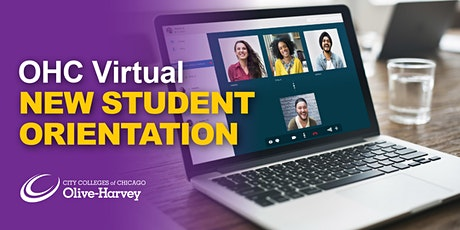 Olive-Harvey College Virtual New Student Orientation tickets
