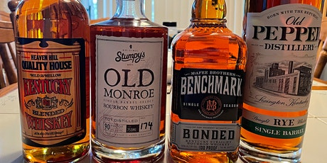 Proof Quiz (Four Samples: 80, 90, 100, 110 Whiskeys) tickets