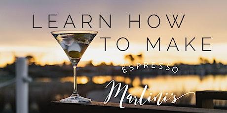 Learn how to make espresso martini's tickets