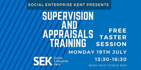 Supervision and Appraisals Training - Free Taster session tickets
