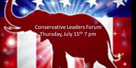 Conservative Leaders Forum tickets
