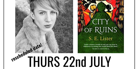 author talk: City Of Ruins by S. E. Lister tickets