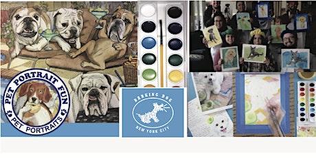 Paint Night at the Barking DOG- Pet Portrait FUN tickets