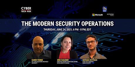 Cyber Tech & Risk - The Modern Security Operations biglietti
