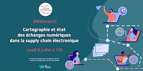 Cartographie & état des échanges numériques de la supply chain électronique billets