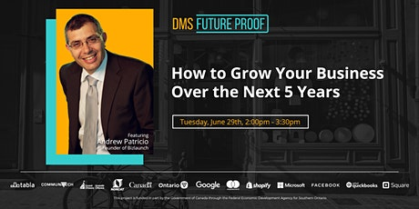 How to Grow Your Business Over the Next 5 Years tickets