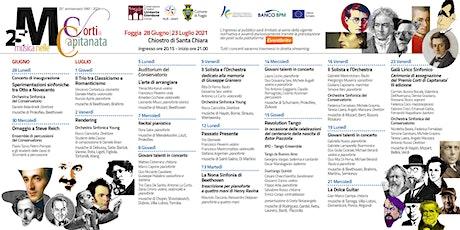 Musica nelle Corti di Capitanata -Galà Lirico Sinfonico biglietti
