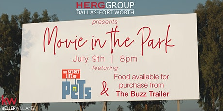 Movie in the Park With HERG Group DFW tickets