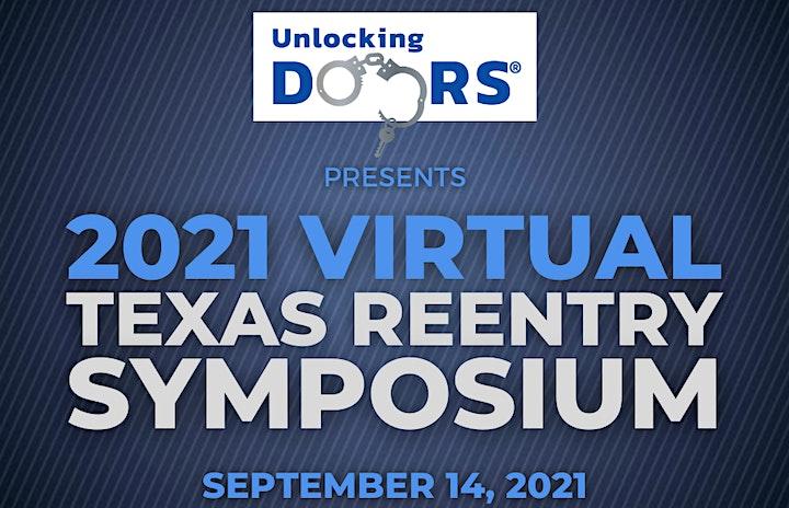2021 Virtual Texas Reentry Symposium image