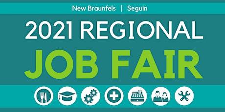 New Braunfels & Seguin Job Fair Attendee Pre-registration tickets