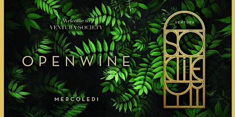 GIARDINO VENTURA OPENWINE MERCOLEDI-NOVITA' ESTIVA  +393382724181 biglietti