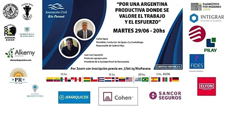 POR UNA ARGENTINA PRODUCTIVA DONDE SE VALORE EL TRABAJO Y EL ESFUERZO entradas