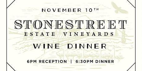 Stonestreet Pairing Dinner at Heaton's Vero Beach! tickets