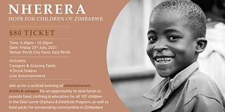 Nherera - Charity Fundraiser for Glen Lorne Orphanage tickets
