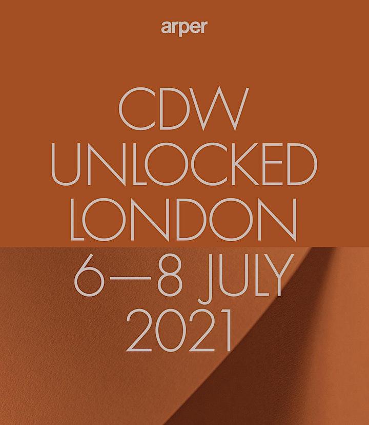 ARPER AT CDW UNLOCKED   6 – 8 JULY 2021 image