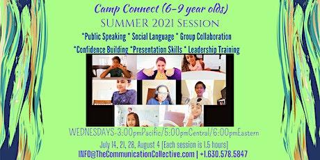 Public Speaking & Communication Enrichment Online Camp for Kids Ages 6-9 tickets