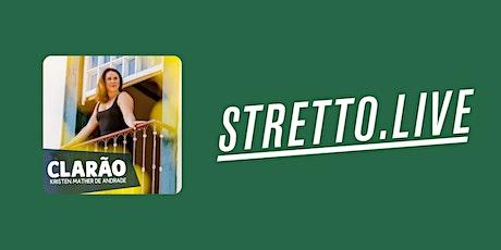 """Album Release Livestream of """"Clarão"""" on Stretto.live  from Studio 42 tickets"""